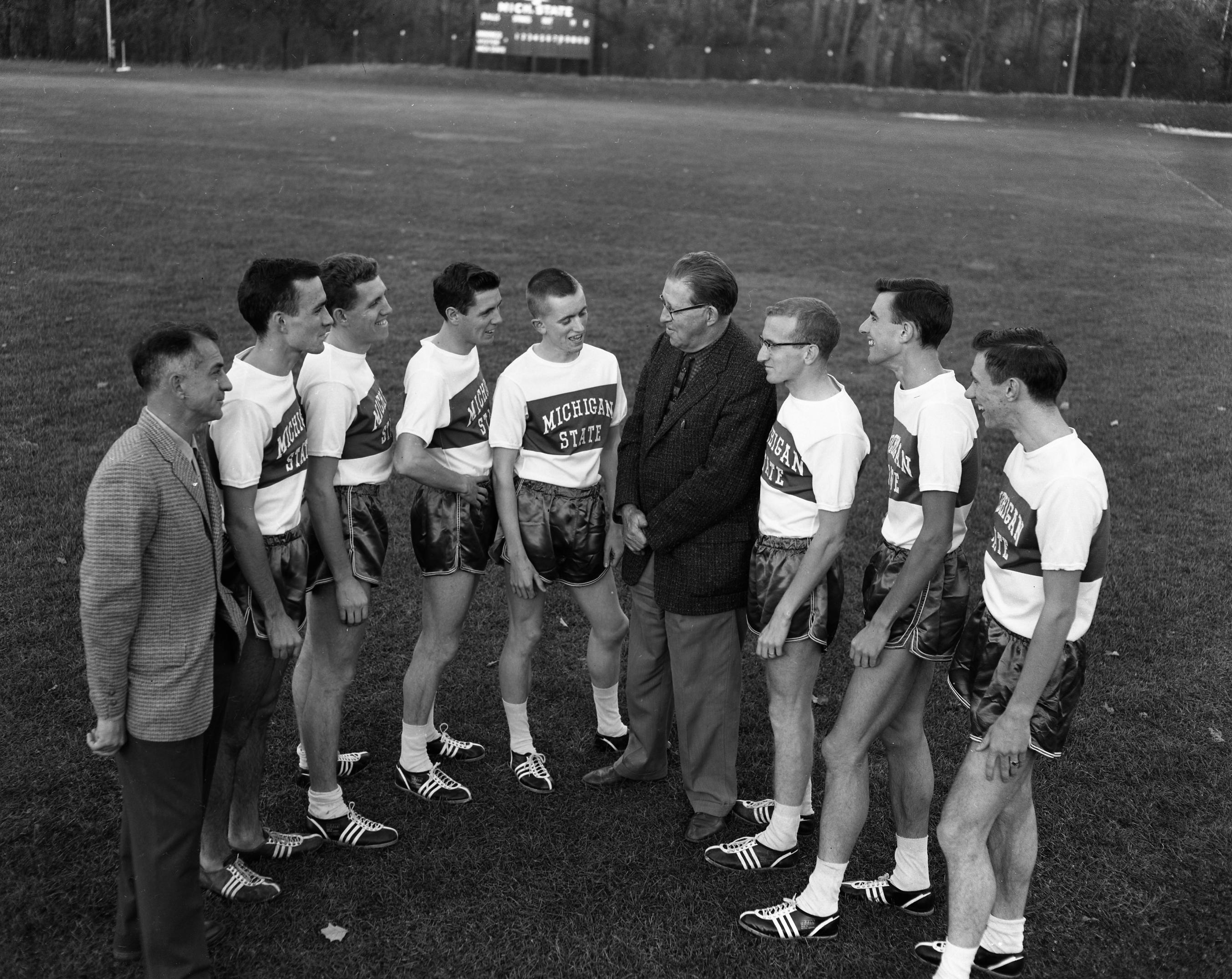 Cross Country Team, 1957