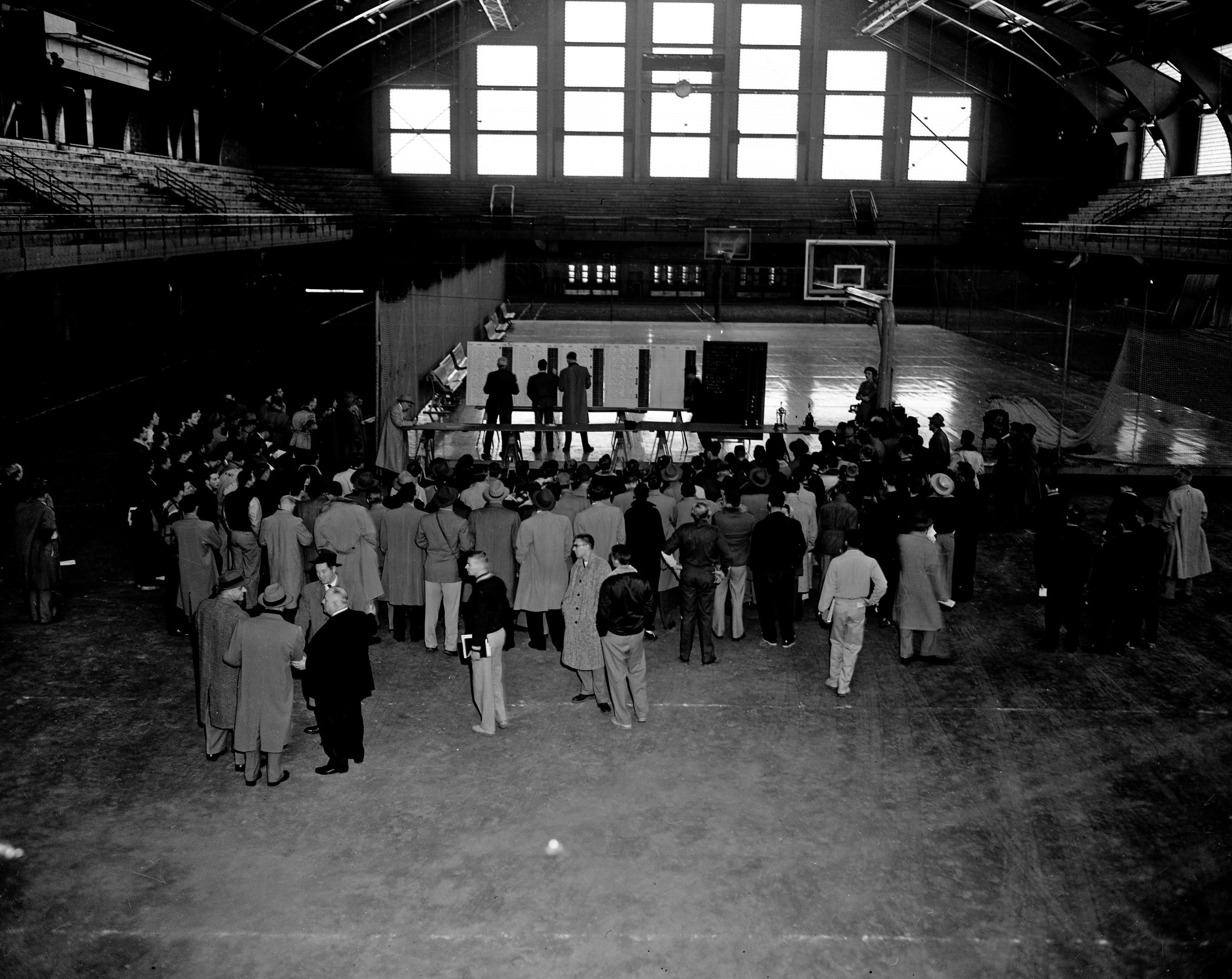 Cross Country NCAA Championship listings, 1952