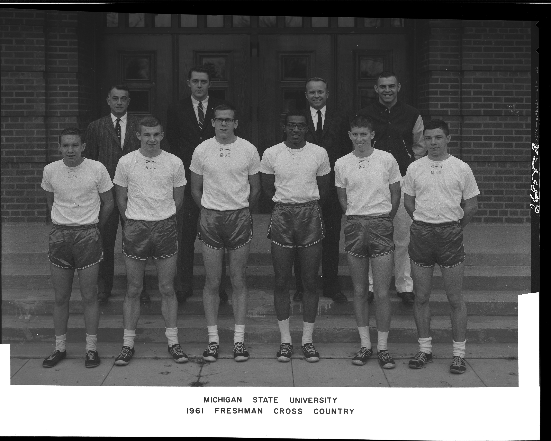 Freshman Cross Country Team Photo, 1961