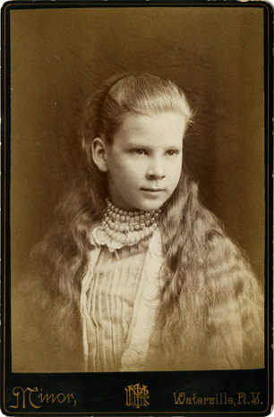 Lottie Storis, circa 1880
