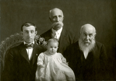 Four generations of the Abel family, date unknown