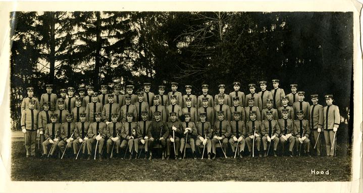 Group Portrait of Cadet Officers