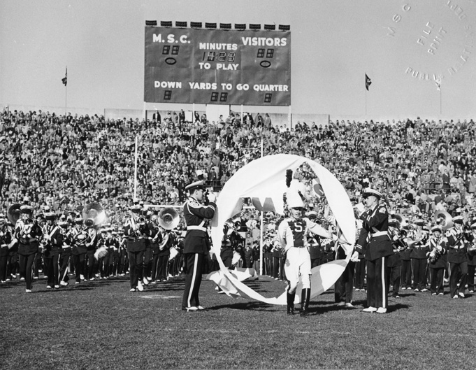 MSC Marching Band, 1953