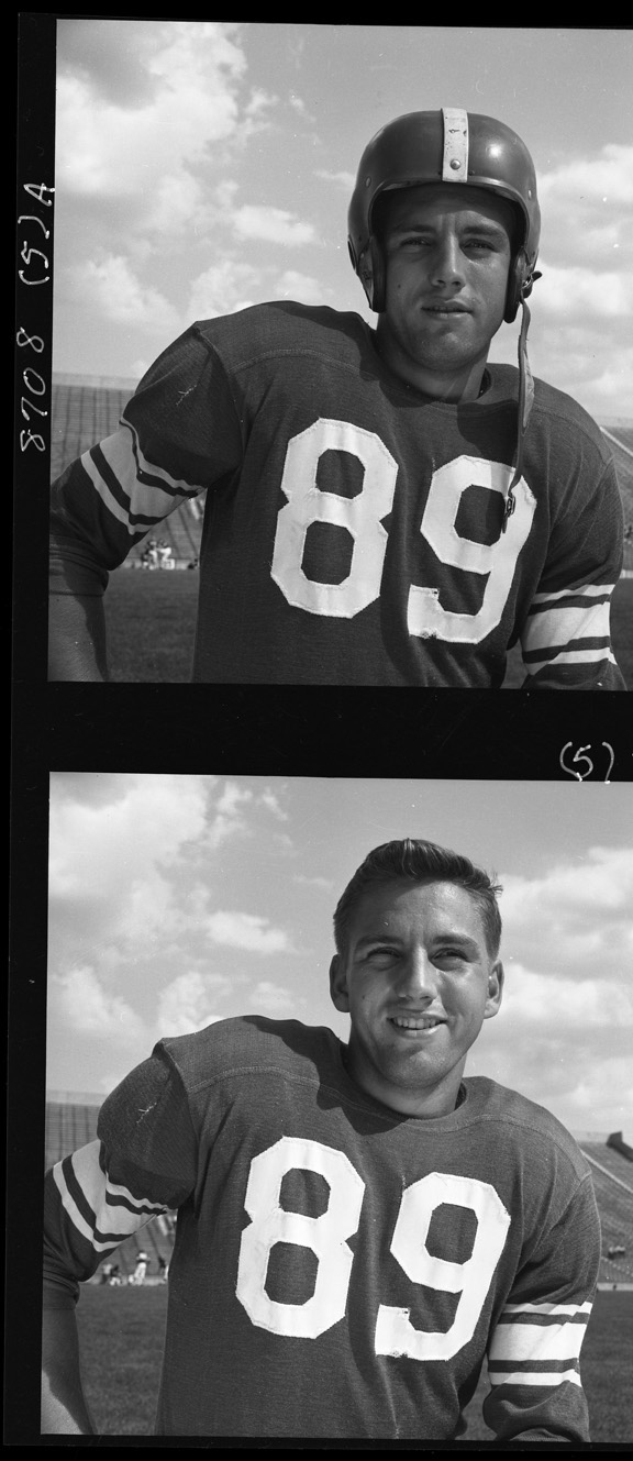 Donald Kauth, Football Picture, 1953