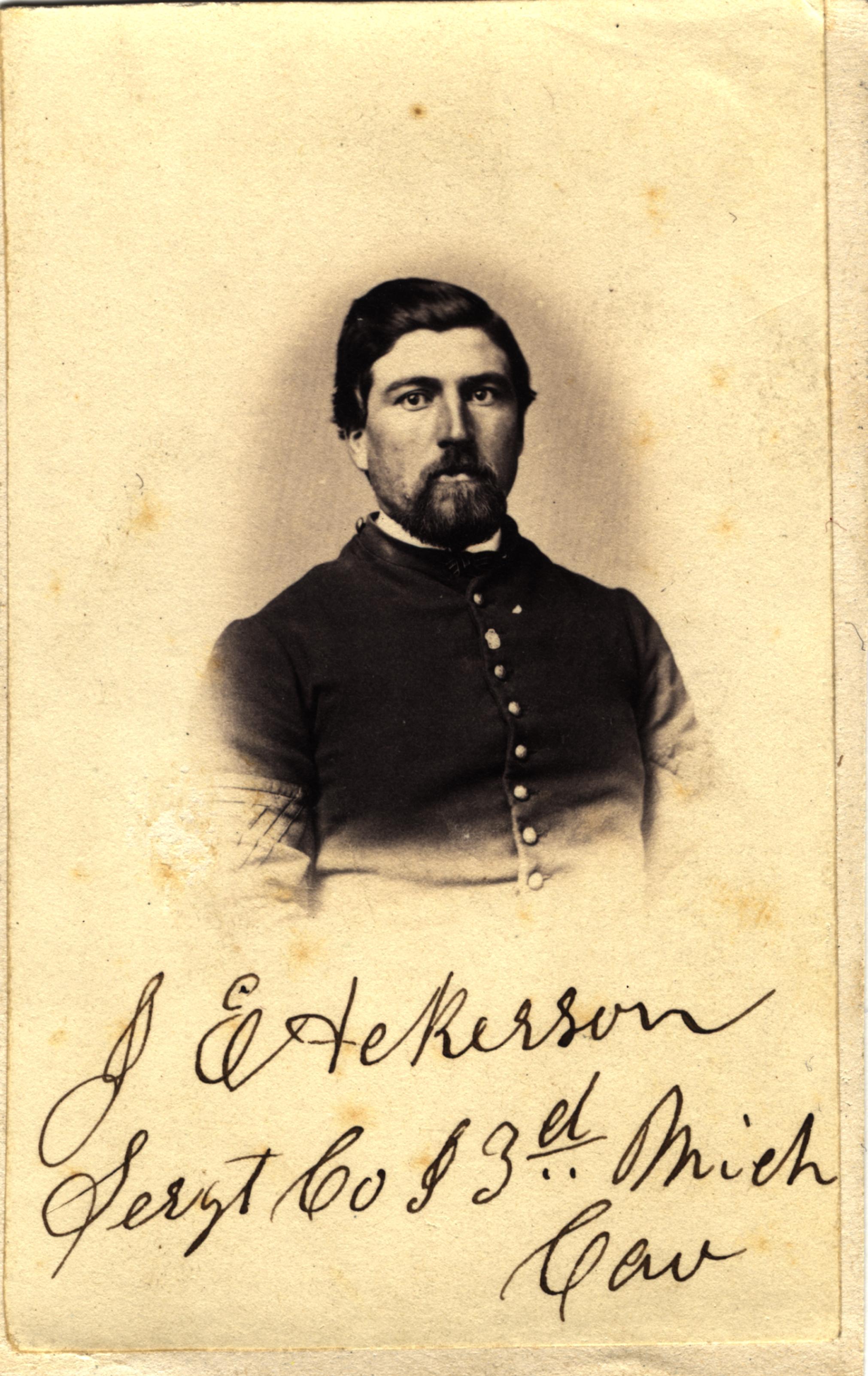 John E. Ackerson, circa 1860s