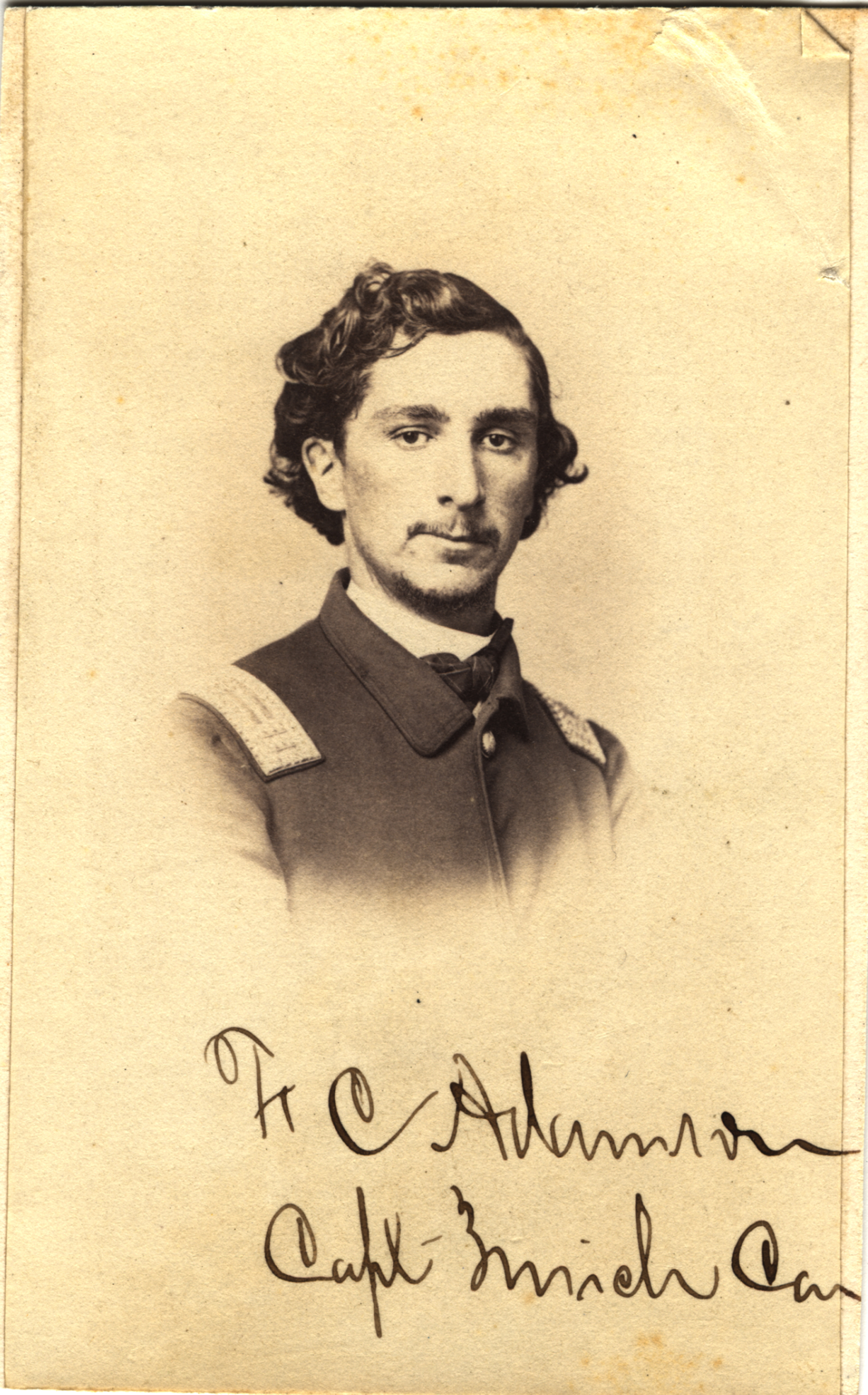 Frederick C. Adamson, circa 1860s