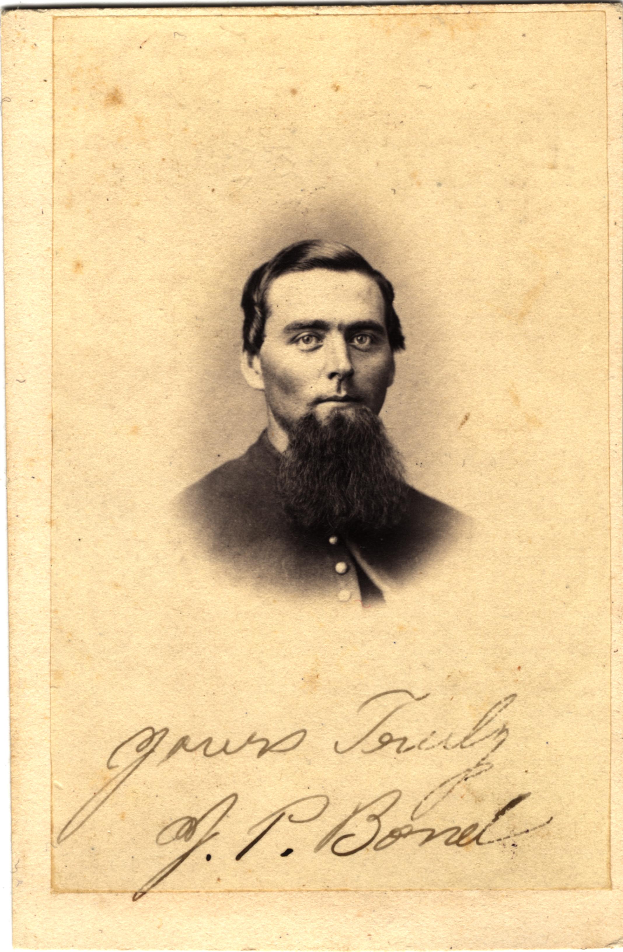 Jackson P. Bond, circa 1860s