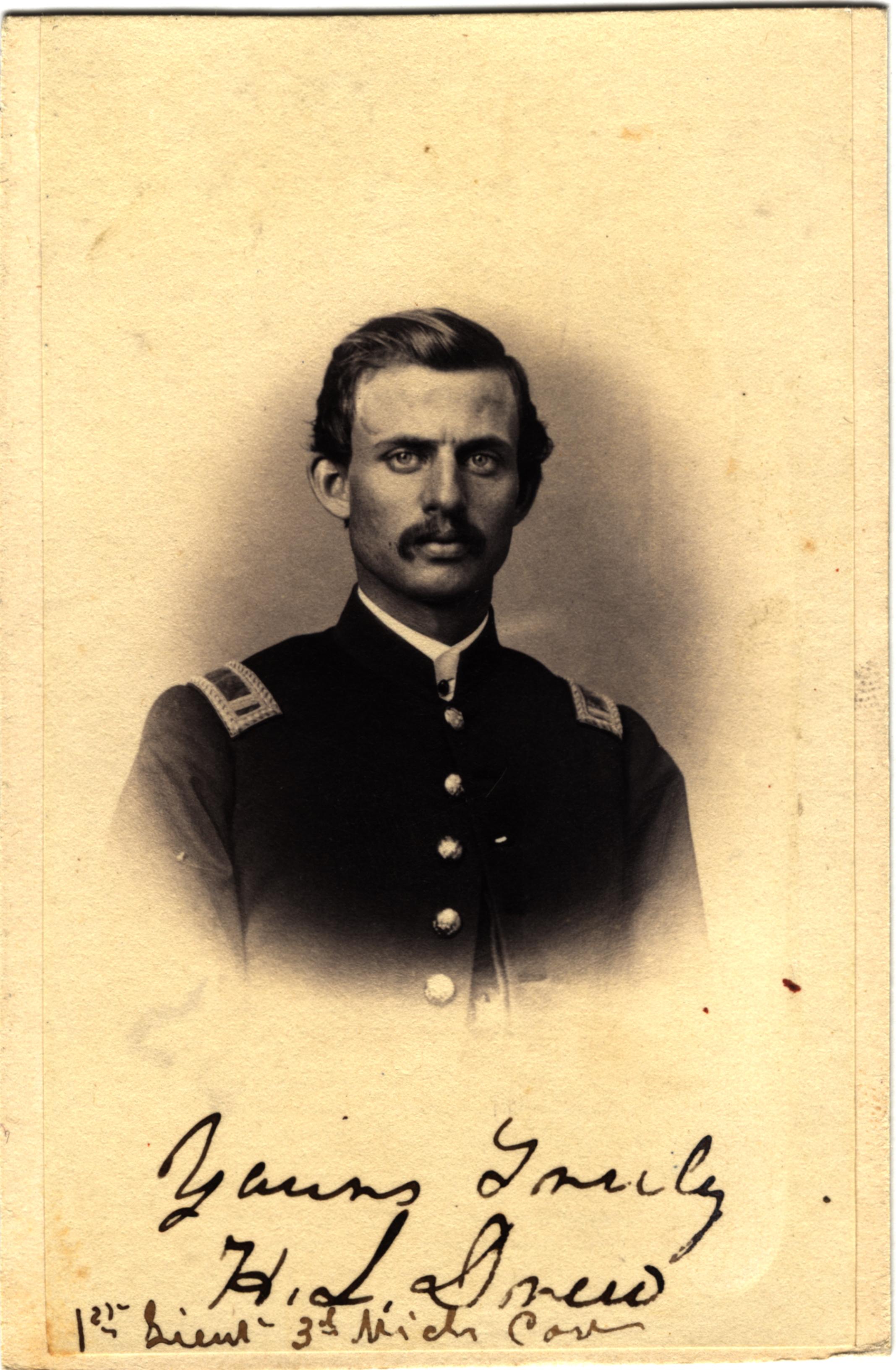 Harvey L. Drew, circa 1860s