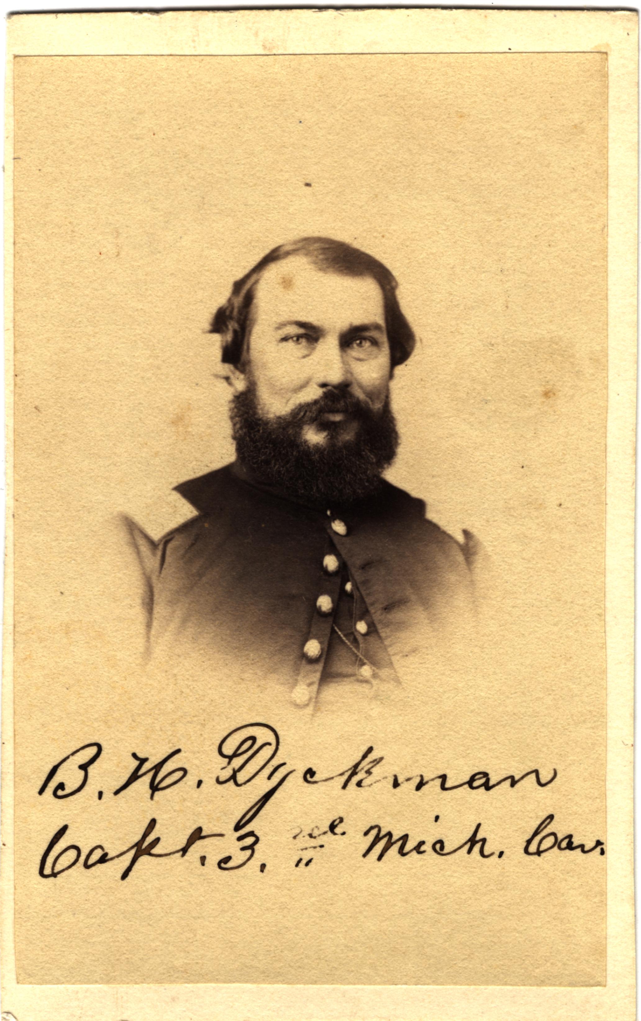 Barney H. Dyckman, circa 1860s