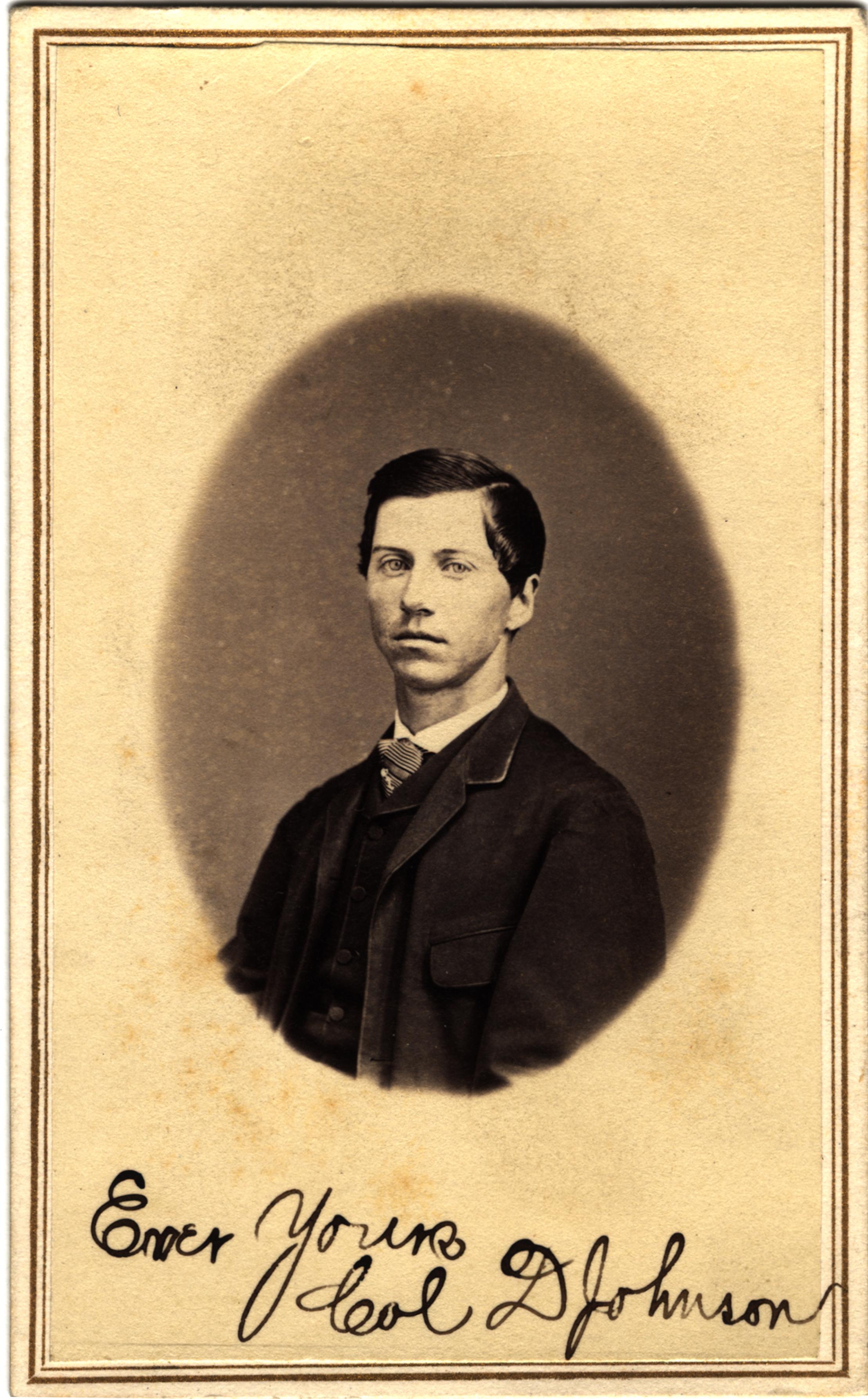 Col. D. Johnson, circa 1860s