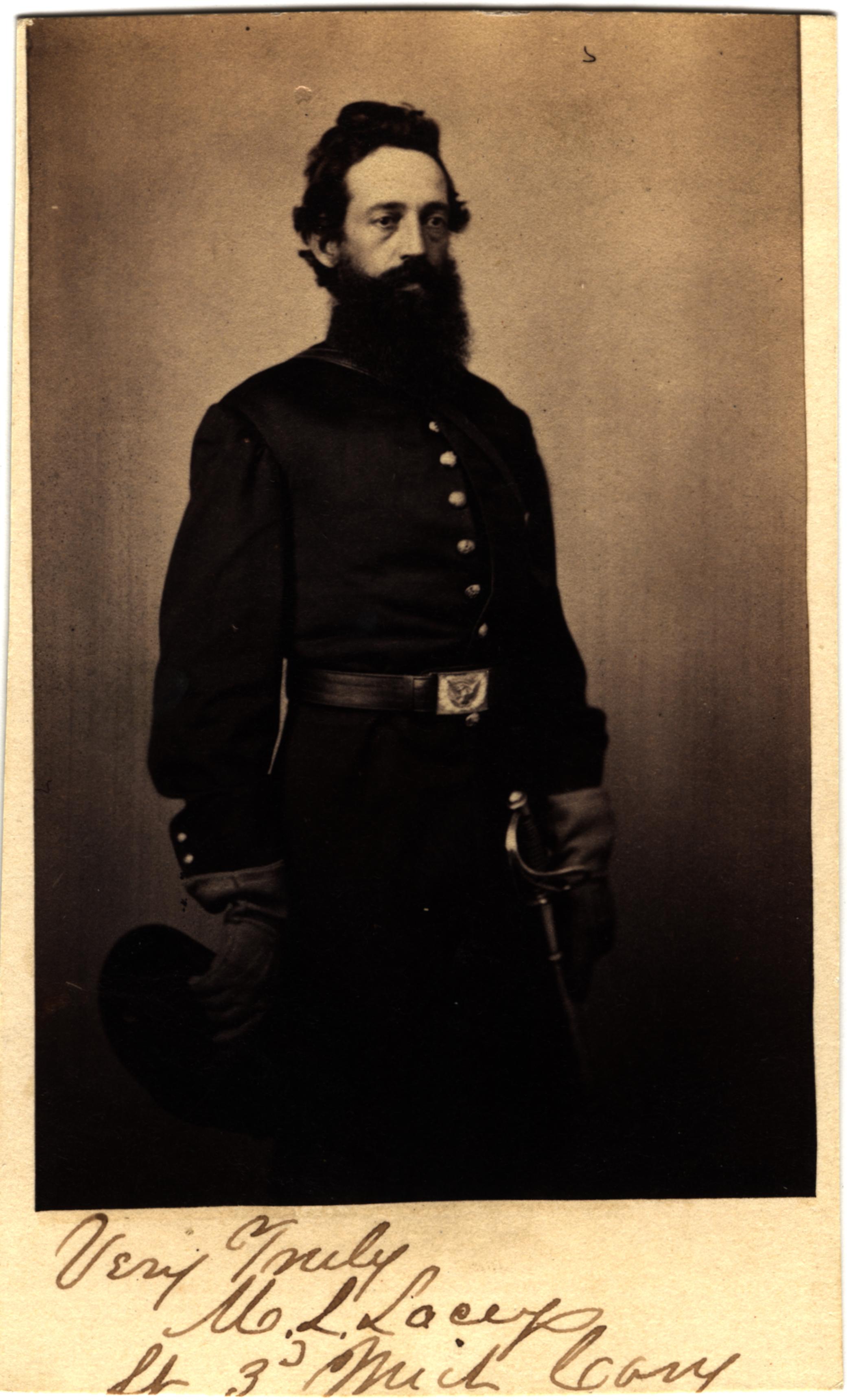 Martin L. Lacey, circa 1860s