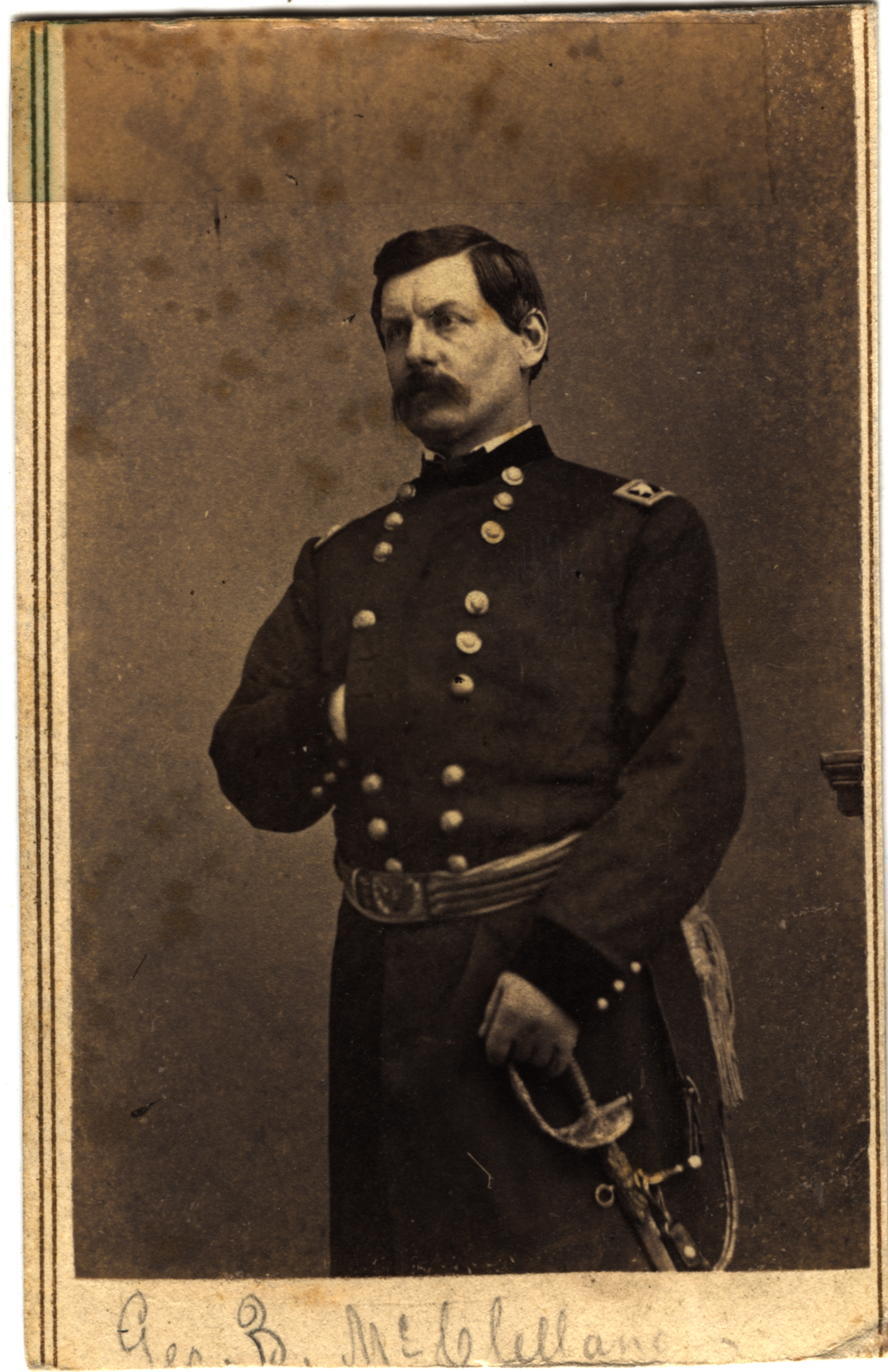 George B. McClellan, circa 1860s