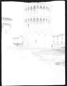 Leaning Tower of Pisa (Frank M. Benton papers), circa 1880s