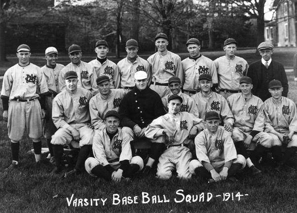 M.A.C. baseball, varsity team, 1914