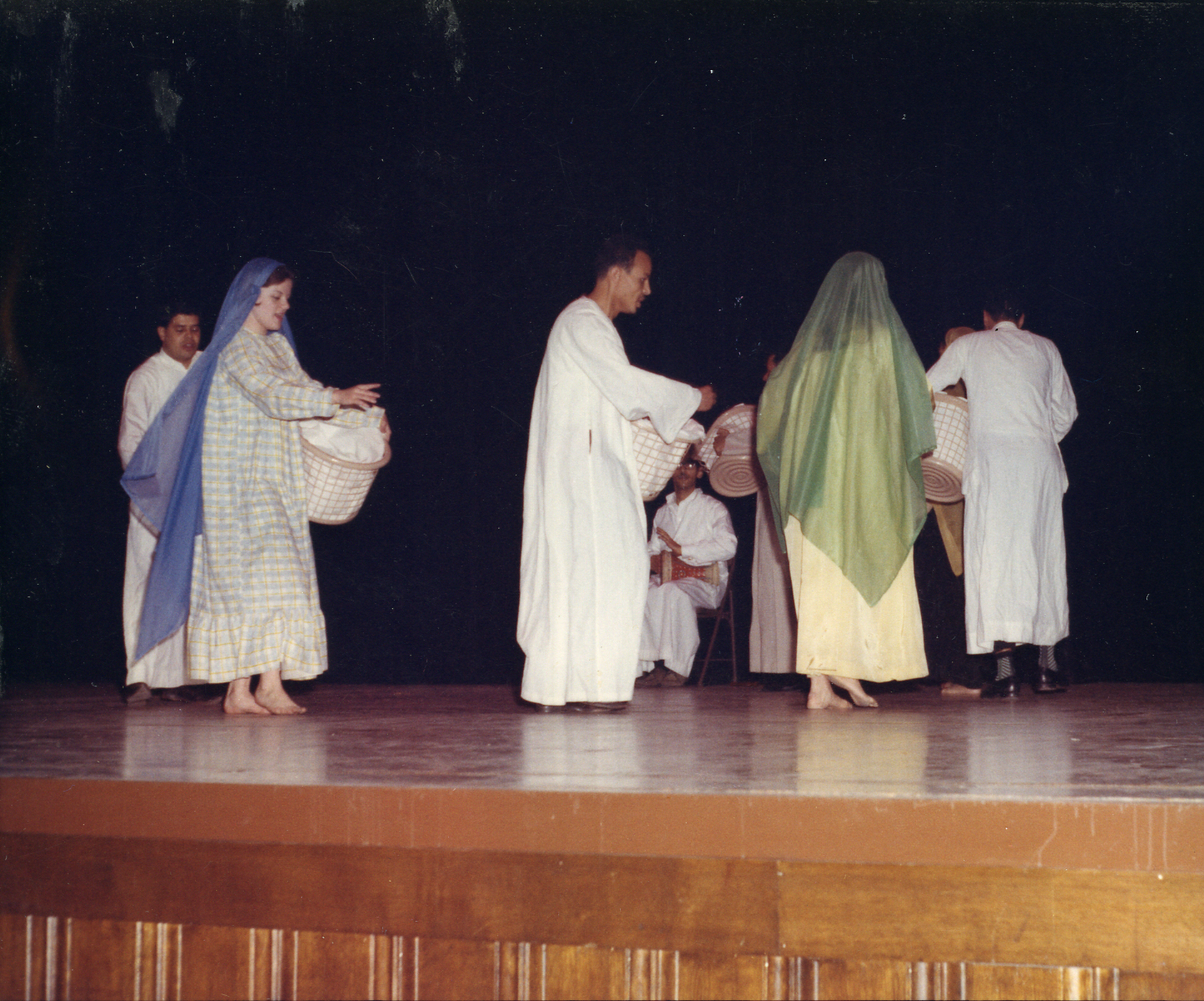 Arab Club performance at the International Festival, 1966