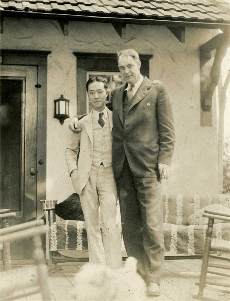Onn Mann Liang and Mr. Luce, 1932
