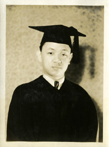 Graduation photograph taken by Onn Mann Liang, 1930
