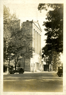 Masonic Temple in Lansing by Onn Mann Liang, circa 1925