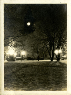 Winter scene, taken by Onn Mann Liang, circa 1925