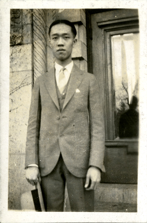 Onn Mann Liang, first year at MSC, 1924