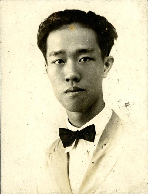 Onn Mann Liang portrait in Oakland, 1922