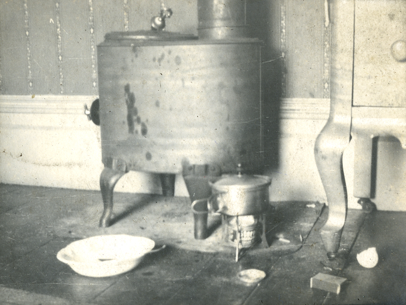 Kitchen utilities, taken by Onn Mann Liang, 1922