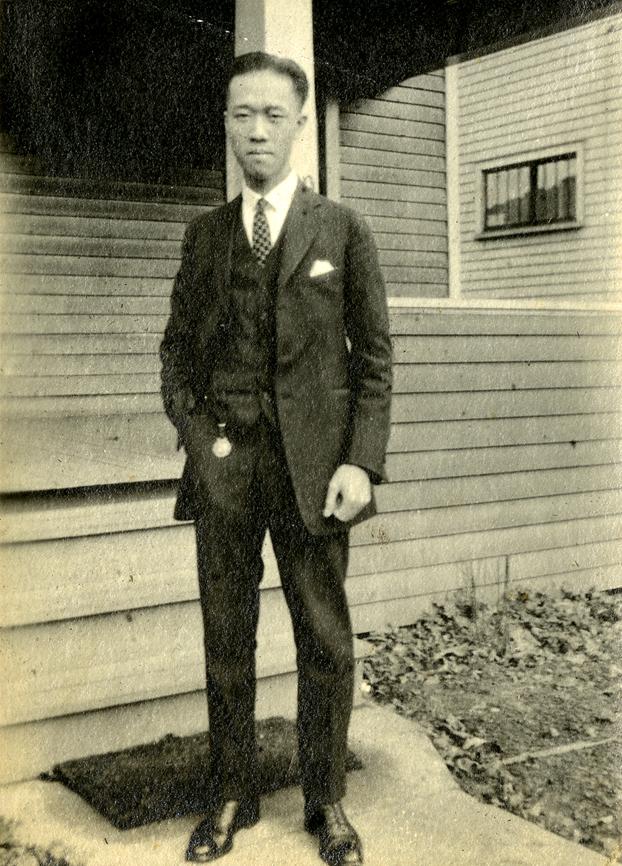Onn Mann Liang in Flint, MI, 1923