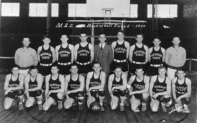 M.S.C. basketball team, 1930