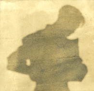 Onn Mann Liang shadow self portrait, 1929