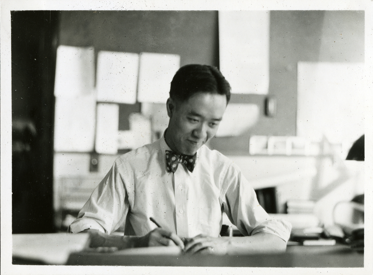 Onn Mann Liang at the Michigan State Highway Department, 1930