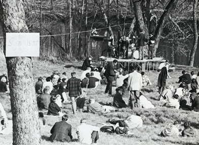 "Beta Theta Pi jazz ""Session on the Cedar,"" 1967"