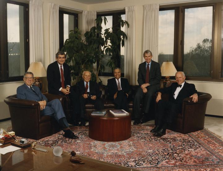 Former MSU Presidents, 1989