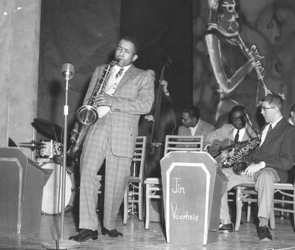 Jim Voorheis Plays the Saxophone, 1958