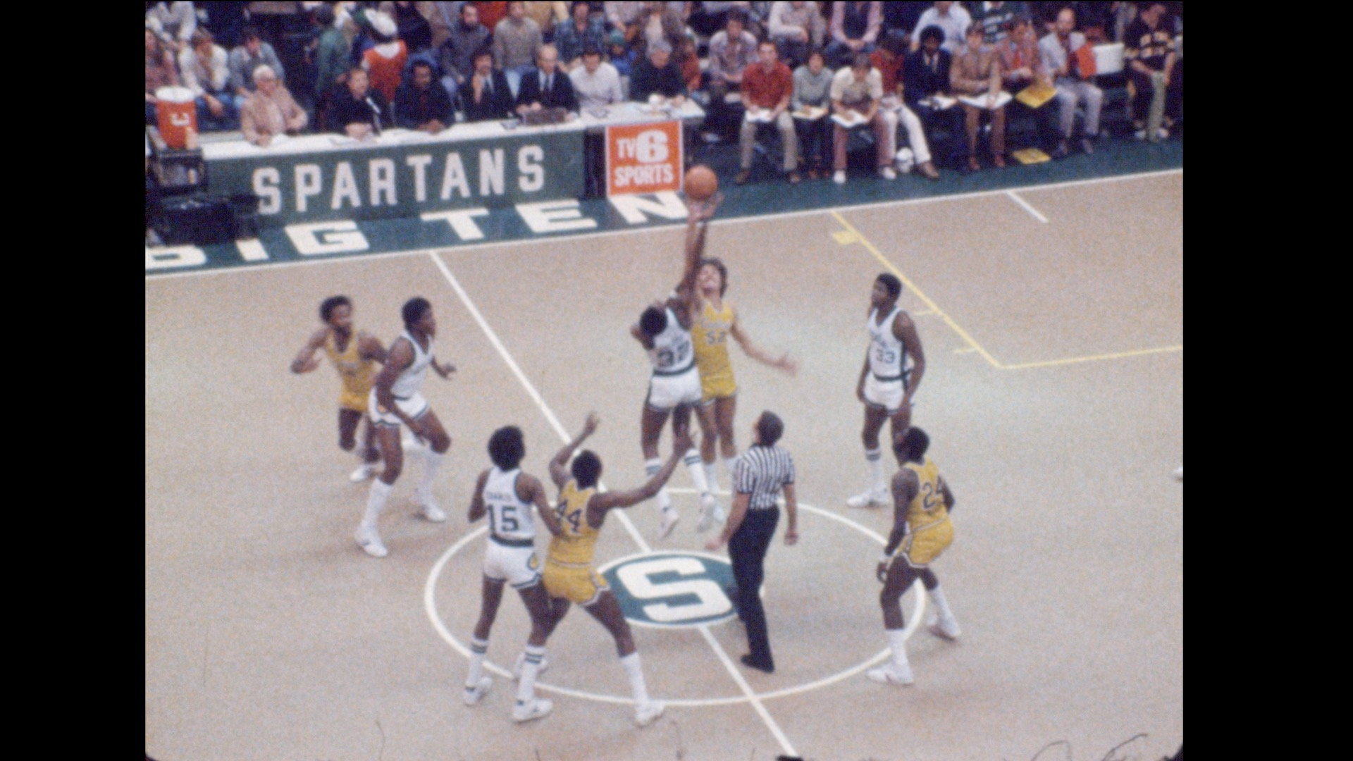 MSU Basketball vs. Central Michigan, 1978