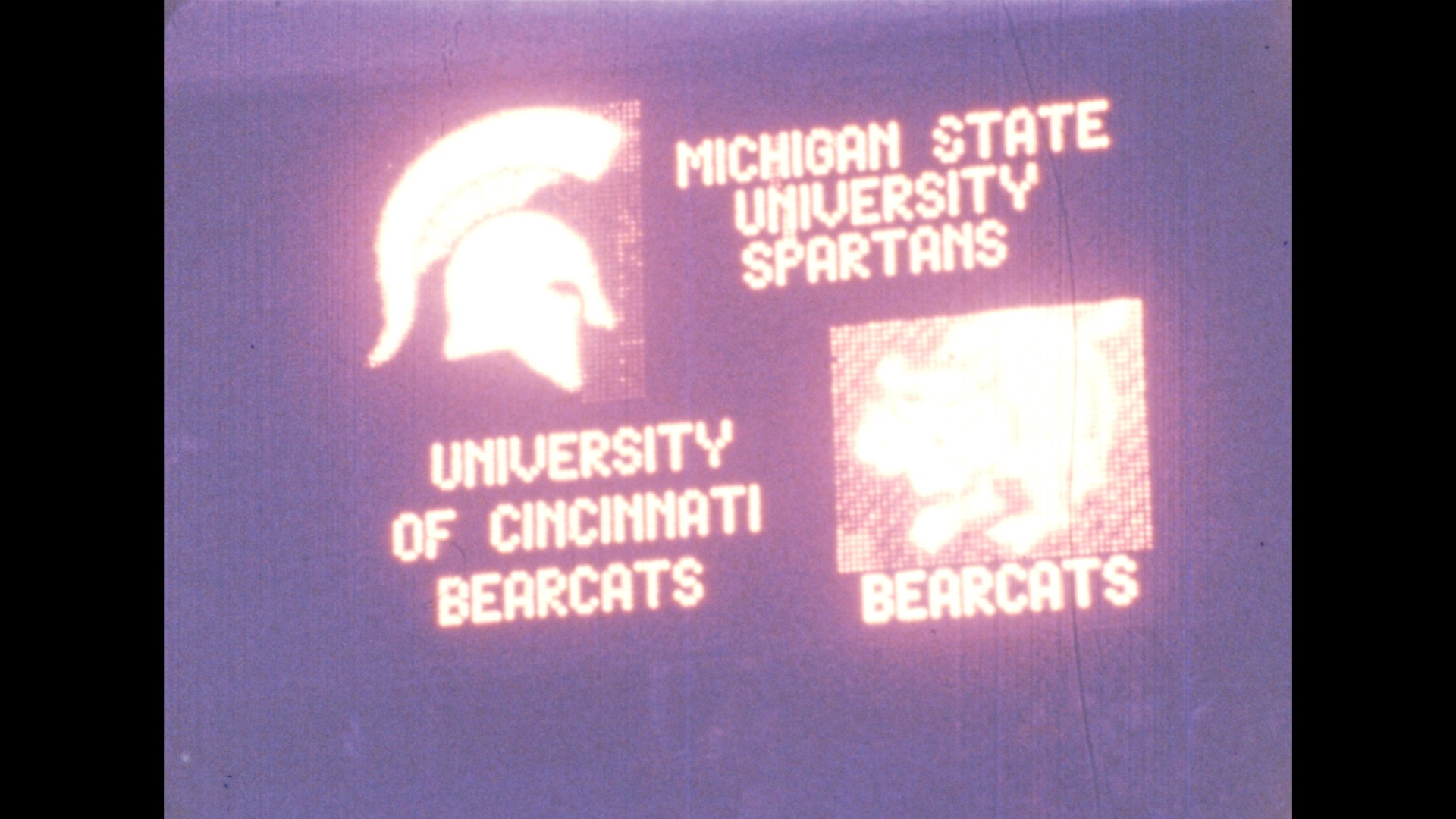 MSU Basketball vs. Cincinnati, 1978