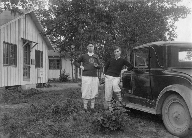 Nicholas and Leonard Falcone, 1928