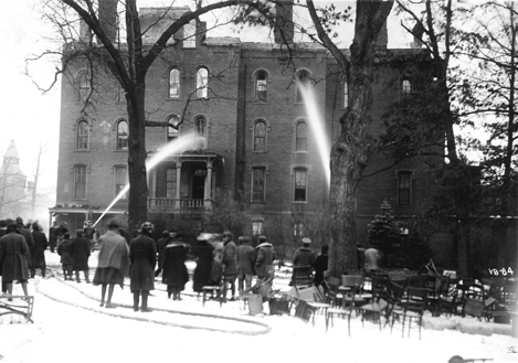 1919 Williams Hall Fire