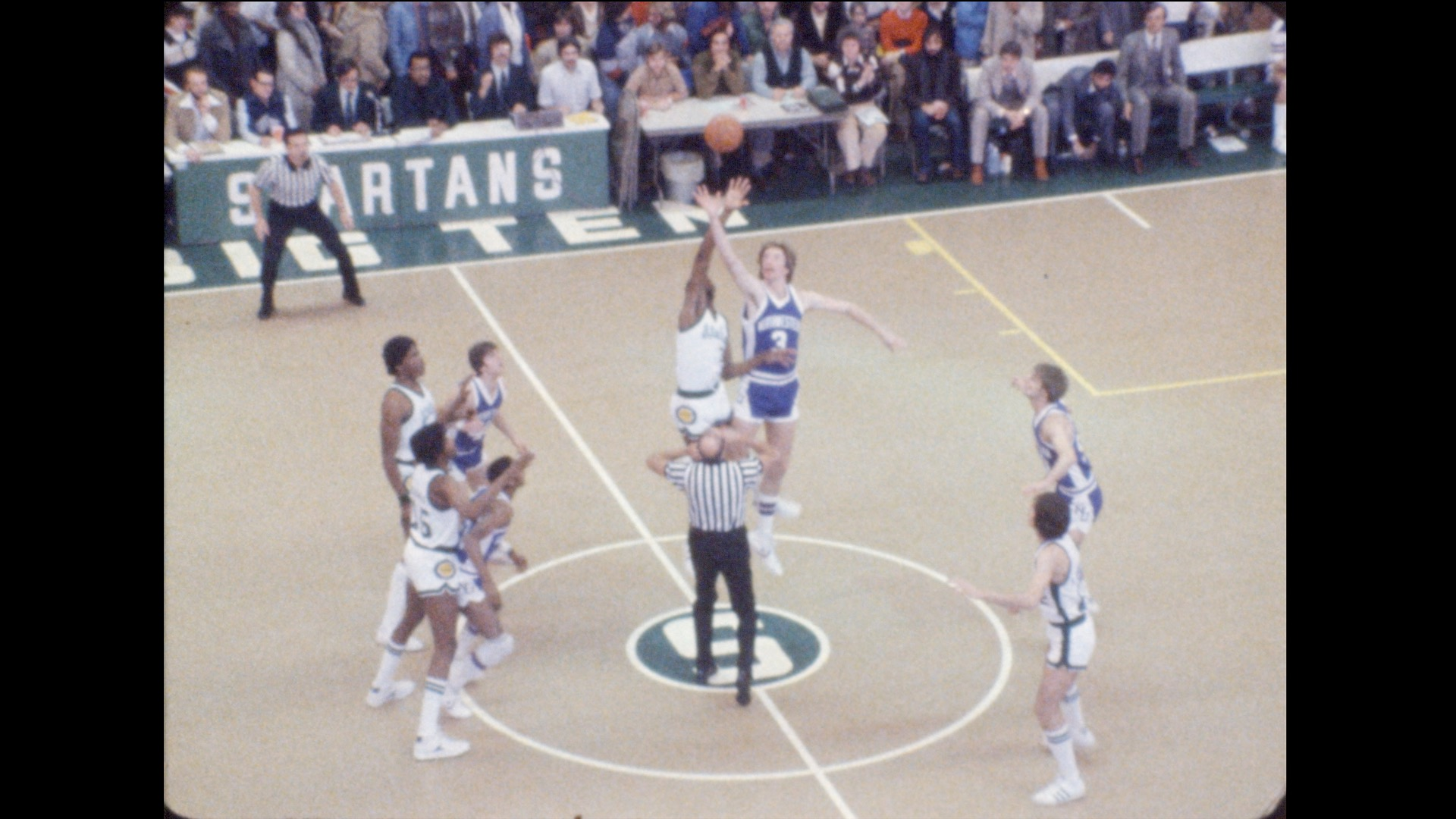 MSU Basketball vs. Northwestern (home), 1979