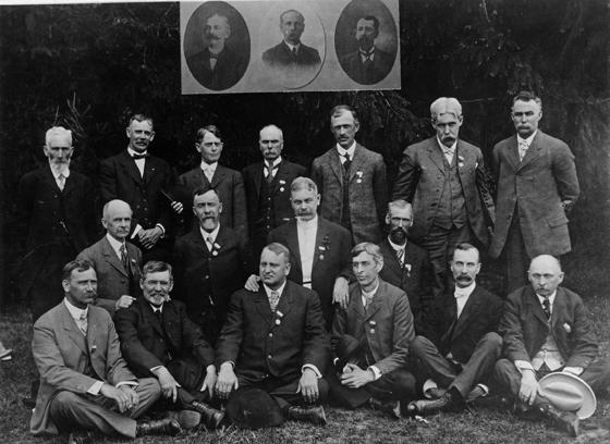 Class Reunion of 1876, 1907