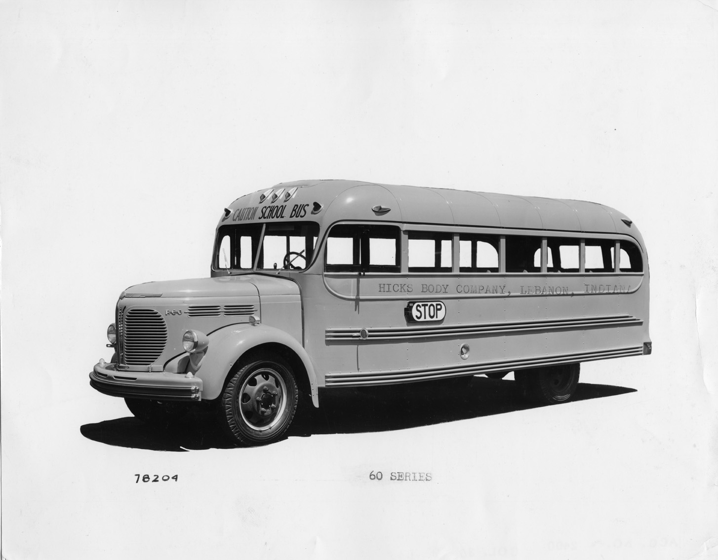 REO Motors School Bus, 1942