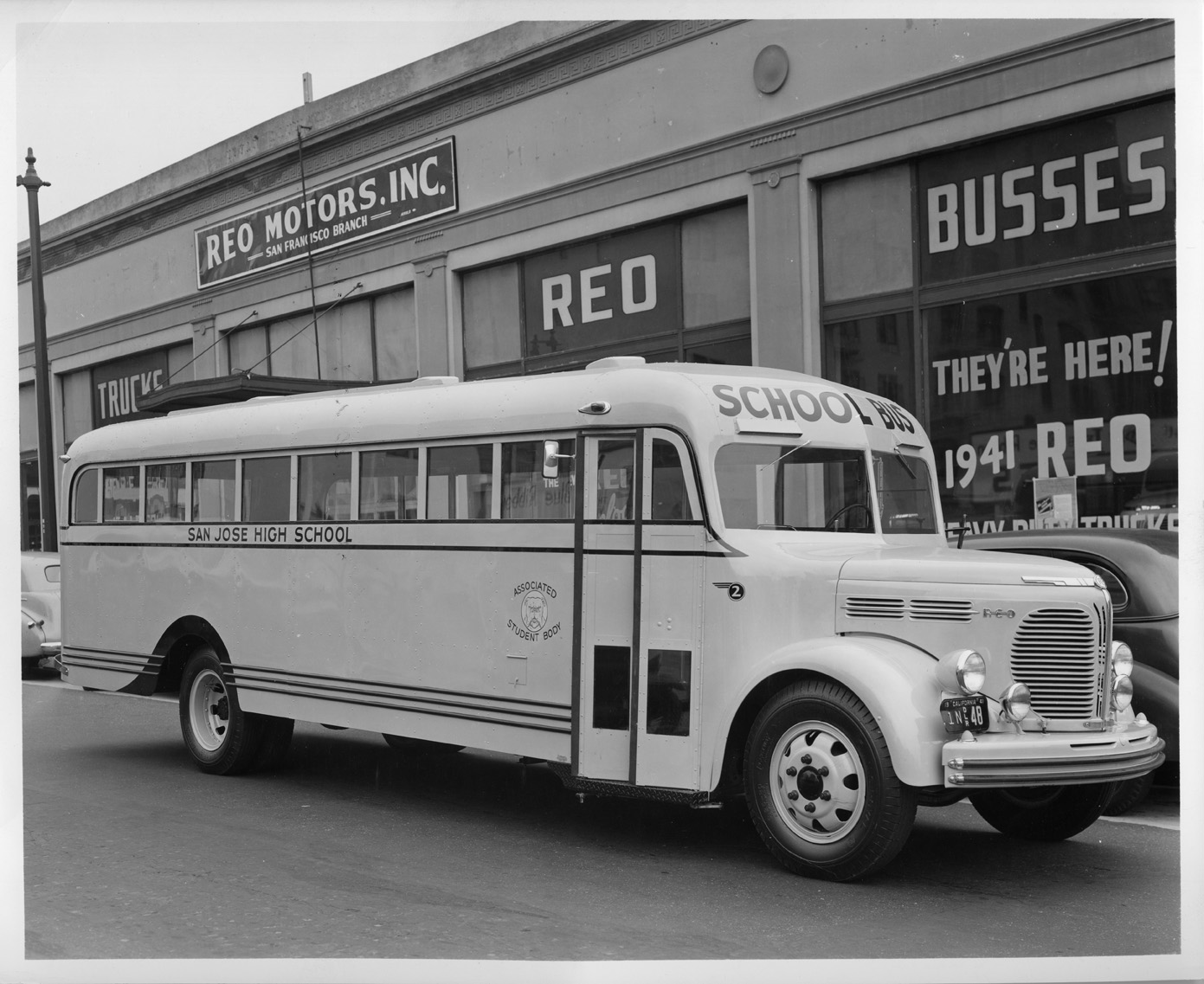 REO Motors School bus, 1941