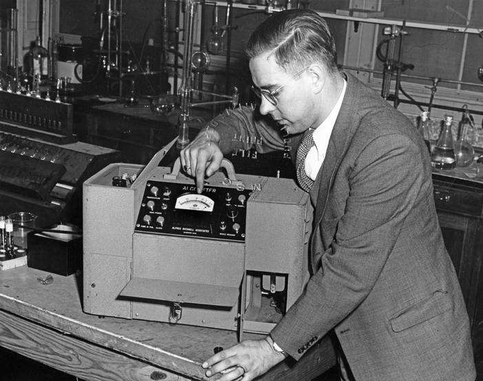 Alcohol Research - Alcometer, 1950