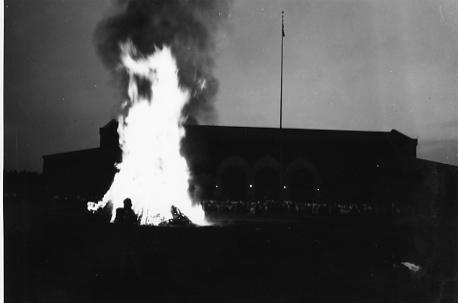 Cap Night Bonfire, 1931