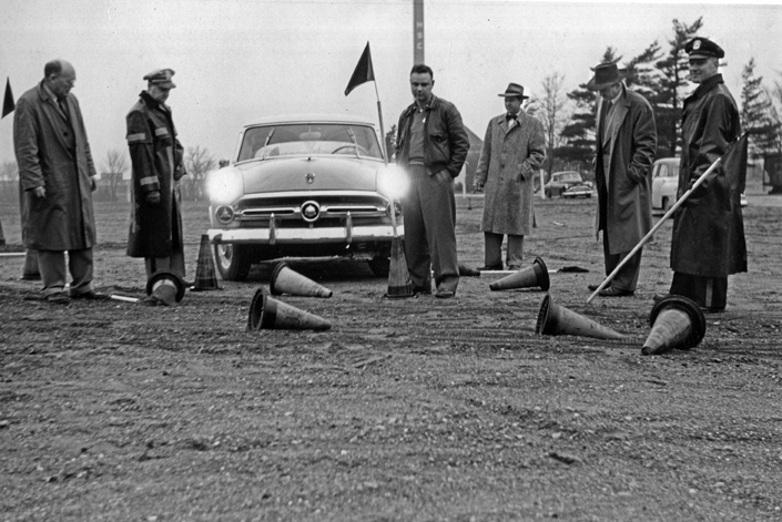 Alcohol Research - Drunk Driving Test, circa 1950