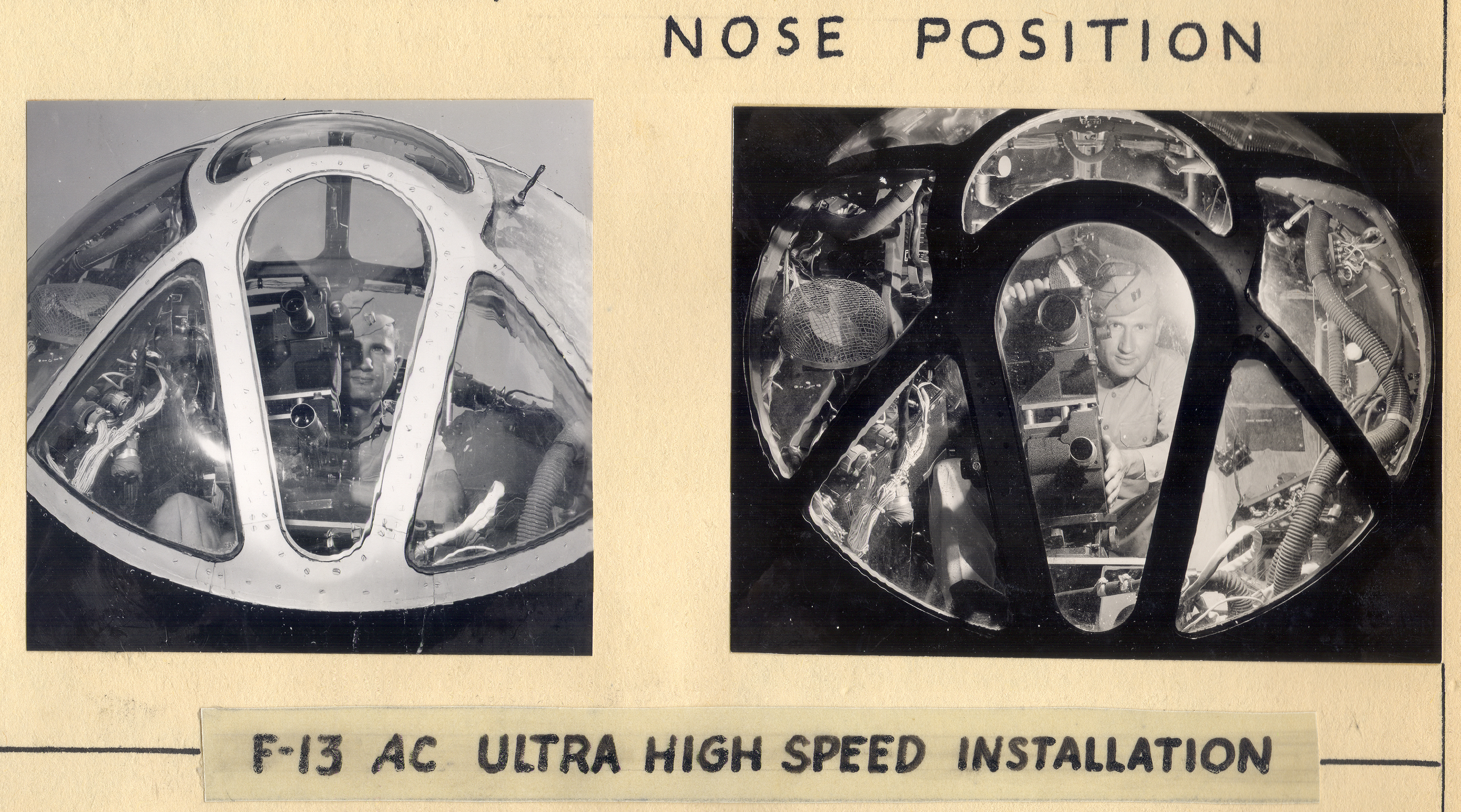 Cameras in the Nose of the Airplane, 1945-1946