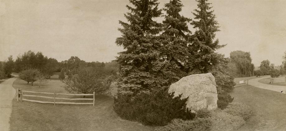 Entrance to Hidden Lake Gardens, 1969
