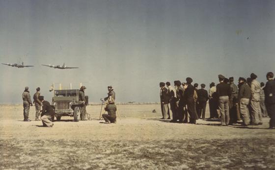 Drone testing, 1945-1946