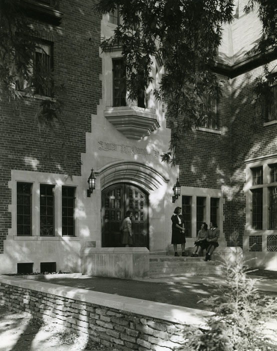 Louise H. Campbell Hall, undated
