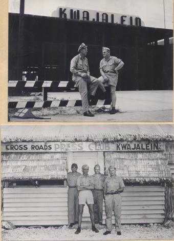 Kwajalein base, circa 1945