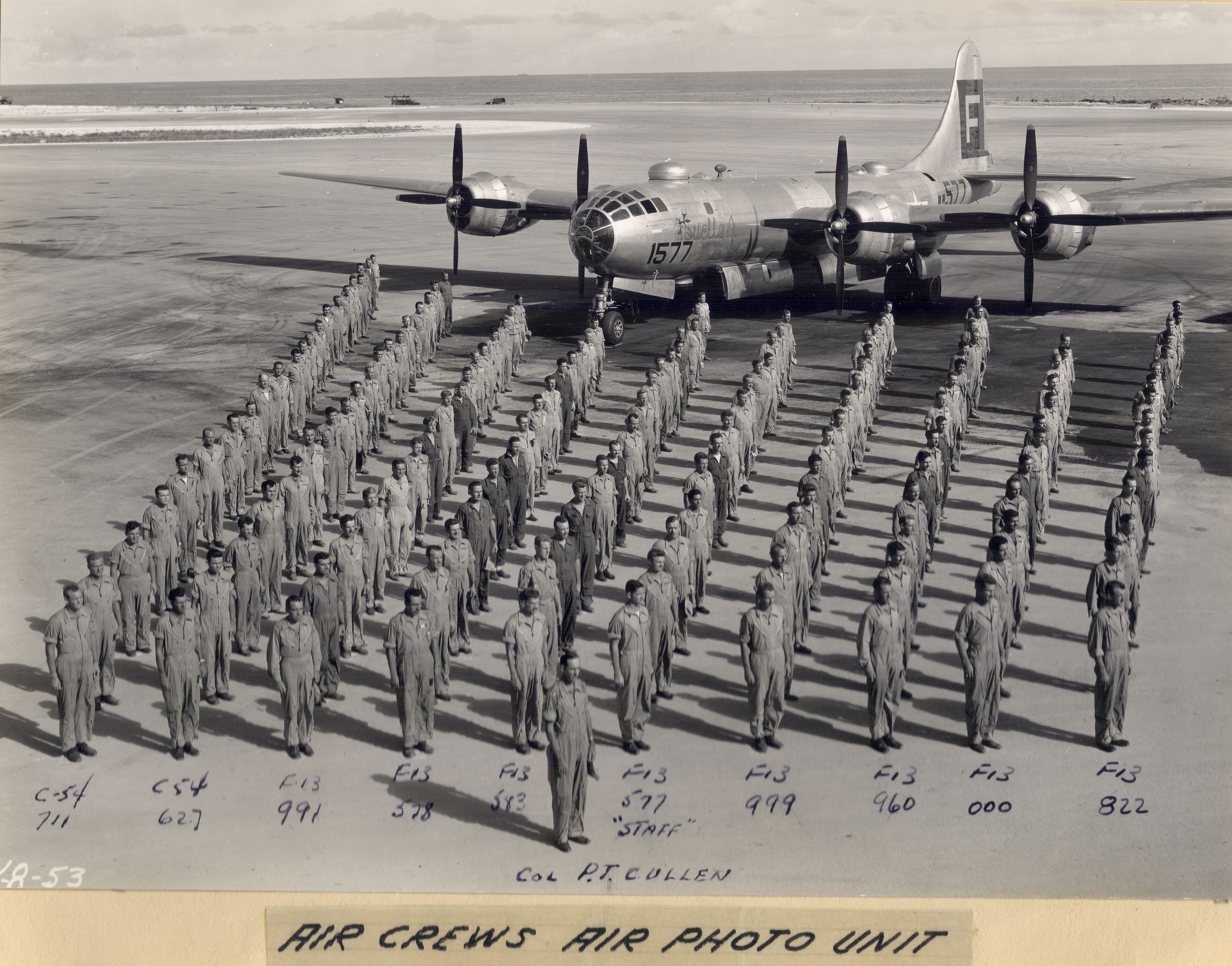 Air Crews from the Air Photo Unit, 1945-1946